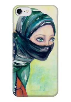 """Чехол для iPhone 7 глянцевый """"Психея"""" - эксклюзивнаяграфика, женскийобраз, богиня, творчество, магия"""