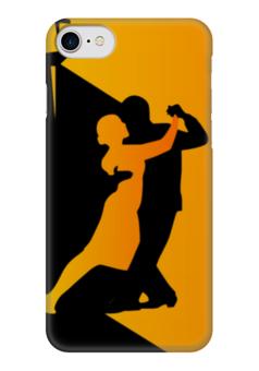 """Чехол для iPhone 7 глянцевый """"Танго в ночи"""" - танец, ночь, танго, цветомузыка"""