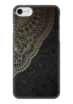 """Чехол для iPhone 7 глянцевый """"Кружева"""" - дизайн, абстракция, иллюстрация, кружева"""
