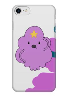 "Чехол для iPhone 7 глянцевый ""Принцесса Пупырка"" - adventure time, время приключений, принцесса пупырка"