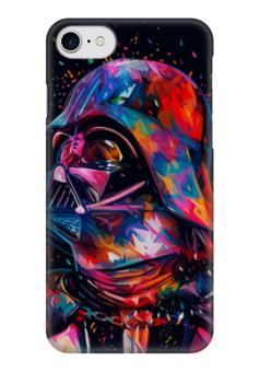 """Чехол для iPhone 7 глянцевый """"Darth Vader """" - star wars, darth vader, вейдер, звездные войны, стар варс"""
