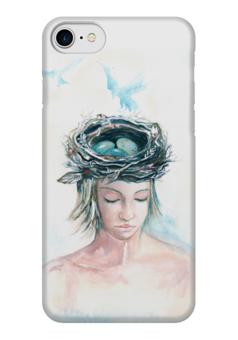 """Чехол для iPhone 7 глянцевый """"Богиня Жива"""" - эксклюзивнаяграфика, женскийобраз, магия, творчество, богиня"""
