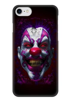 """Чехол для iPhone 7 глянцевый """"Evil Clown"""" - зомби, клоун, evil, clown, злой клоун"""