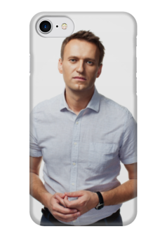 """Чехол для iPhone 7 глянцевый """"Навальный 2018"""" - навальный, navalny, my-navalny"""