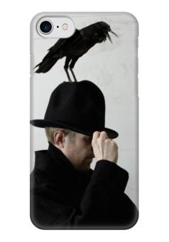 """Чехол для iPhone 7 глянцевый """"Jay Jay Johanson"""" - концерт, jay jay johanson, джей-джей йохансон, электроклэш"""
