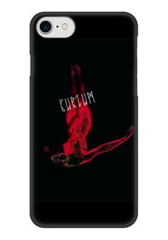 "Чехол для iPhone 7 глянцевый ""Burzum"" - burzum, викинги, vikings, путь воина"