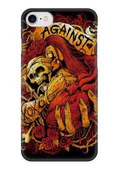 """Чехол для iPhone 7 глянцевый """"Horror Art"""" - skull, череп, арт, art, страх, ужас, death, смерть, fear, horror"""