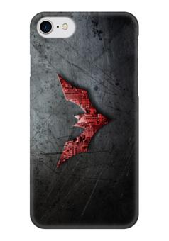 "Чехол для iPhone 7 глянцевый ""Бэтмен будущего"" - comics, batman, бэтмен, dc, batman beyond"