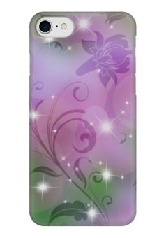 "Чехол для iPhone 7 глянцевый ""Лилия"" - цветок, лилия"