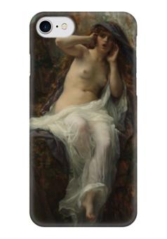 "Чехол для iPhone 7 глянцевый ""Эхо (картина Кабанеля)"" - картина, кабанель"