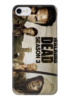 """Чехол для iPhone 7 глянцевый """"ходячие мертвецы"""" - сериалы, зомби, фильмы, ходячие мертвецы"""
