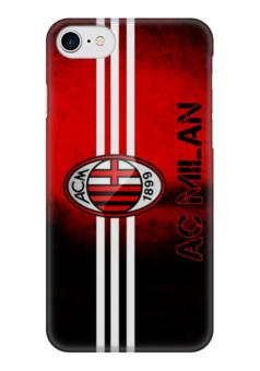 """Чехол для iPhone 7 глянцевый """"Милан (AC Milan)"""" - football, милан, ac milan"""