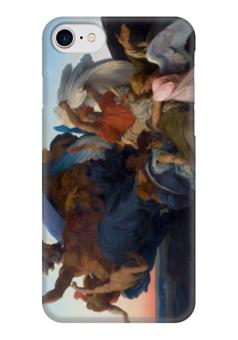 """Чехол для iPhone 7 глянцевый """"Смерть Моисея (The Death of Moses)"""" - картина, кабанель"""
