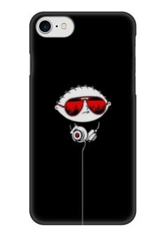 "Чехол для iPhone 7 глянцевый ""Гриффины"" - мультфильмы, family guy, гриффины, стьюи гриффин"