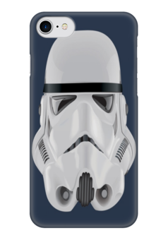 "Чехол для iPhone 7 глянцевый ""Звёздные войны"" - звездные войны, штурмовик"