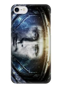 """Чехол для iPhone 7 глянцевый """"путин"""" - арт, путин, президент, владимир путин, самый вежливый из людей"""