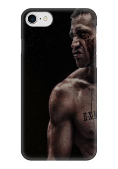 """Чехол для iPhone 7 глянцевый """"Southpaw """" - бокс"""