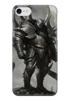 "Чехол для iPhone 7 глянцевый ""Гладиатор"" - варвар, вион, секира, gladiator"