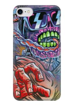 """Чехол для iPhone 7 глянцевый """"зомби"""" - n-a-v"""