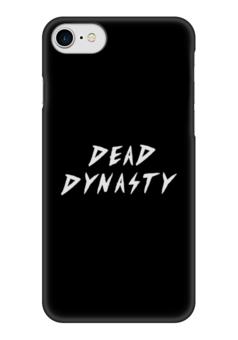 """Чехол для iPhone 7 глянцевый """"Dead Dynasty"""" - dead dynasty, рэп, хип-хоп"""