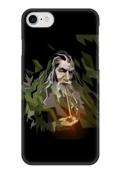 """Чехол для iPhone 7 глянцевый """"Гендальф"""" - арт, война, властелин колец, средиземье, фродо"""