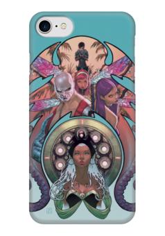 """Чехол для iPhone 7 глянцевый """"X-MEN"""" - супергерои, люди икс, heroes, x-men"""