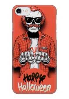 "Чехол для iPhone 7 глянцевый ""Счастливого Хэллоуина"" - счастливого хэллоуина"