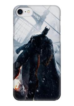 "Чехол для iPhone 7 глянцевый ""The Dark Knight"" - комиксы, batman, dc, dc comics, бетмэн"