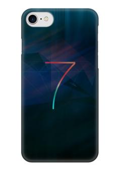 """Чехол для iPhone 7 глянцевый """"Iphone 7"""" - iphone, семь"""