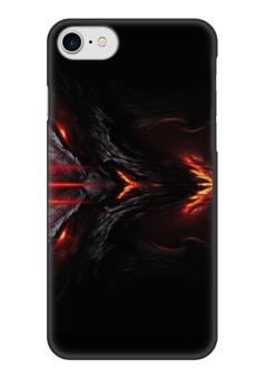 """Чехол для iPhone 7 глянцевый """"игра Doom"""" - игра, монстр, doom, шутер, дум"""