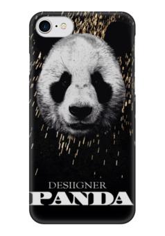 """Чехол для iPhone 7 глянцевый """"Panda """" - музыка, арт, панда, panda, animals"""