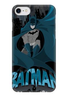 "Чехол для iPhone 7 глянцевый ""Бэтмен"" - комиксы, бэтмен, dc comics, dc, batman"
