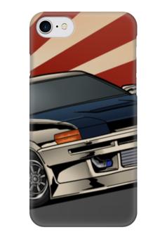 """Чехол для iPhone 7 глянцевый """"JDM Toyota AE86"""" - jdm, japan, toyota"""