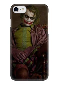 "Чехол для iPhone 7 глянцевый ""joker"" - joker, джокер, super flamands"