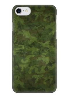 "Чехол для iPhone 7 глянцевый ""Камуфляж"" - армия, army, камуфляж, camo"