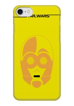 "Чехол для iPhone 7 глянцевый ""C-3PO"" - star wars, звездные войны, c3po, ситрипио"