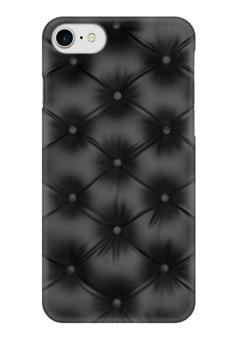 "Чехол для iPhone 7 глянцевый ""Кожа, обивка"" - текстура, кожа, texture, обивка"