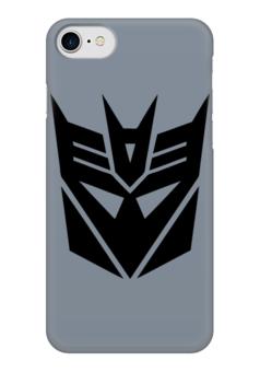 """Чехол для iPhone 7 глянцевый """"трансформеры"""" - transformers, трансформеры, автоботы, десептиконы, decepticons"""