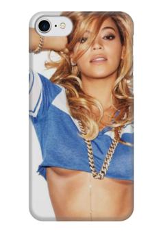 """Чехол для iPhone 7 глянцевый """"Beyoncé"""" - beyonce, бейонсе, beyoncé"""