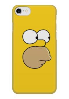 "Чехол для iPhone 7 глянцевый ""симпсоны"" - симпсоны, гомер симпсон, the simpsons"