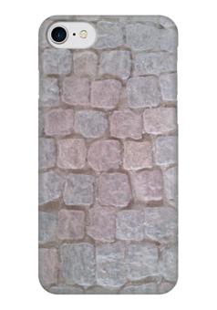 """Чехол для iPhone 7 глянцевый """"Брусчатка"""" - брусчатка, paving stone"""