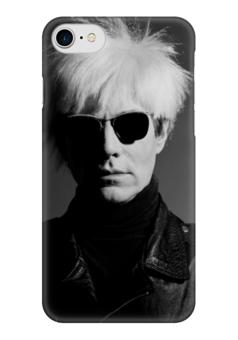 "Чехол для iPhone 7 глянцевый ""Уорхол"" - арт, поп-арт, искусство, авангард, уорхол"