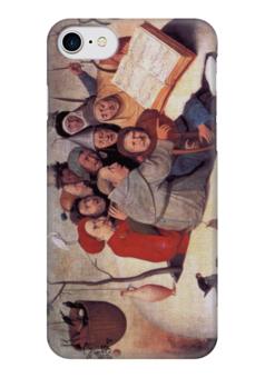 "Чехол для iPhone 7 глянцевый ""Концерт в яйце"" - картина, босх"