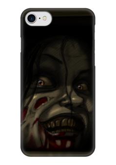 """Чехол для iPhone 7 глянцевый """"Мия (Зловещие Мертвецы)"""" - ужас, evil dead, зловещие мертвецы"""