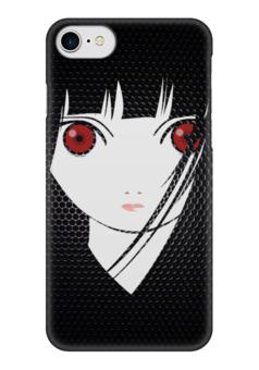 """Чехол для iPhone 7 глянцевый """"Ai Enma (Hell Girl)"""" - манга, hell girl, ай эмма"""