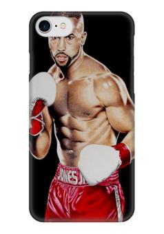 """Чехол для iPhone 7 глянцевый """"Roy Jones"""" - спорт, бокс, рой джонс, roy jones"""