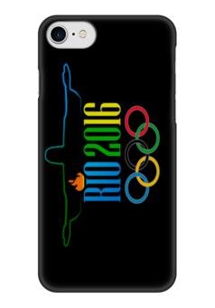 "Чехол для iPhone 7 глянцевый ""Рио 2016"" - спорт, рио, 2016"