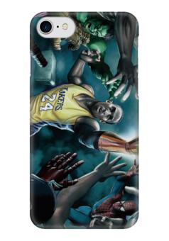 """Чехол для iPhone 7 глянцевый """"comics"""" - comix, marvel, супергерои, баскетбол, марвел"""