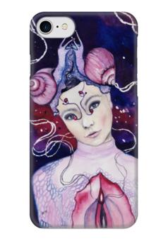 "Чехол для iPhone 7 глянцевый ""Бьорк"" - женскийобраз, бьорк, творчество, музыка, богиня"