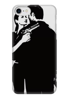 """Чехол для iPhone 7 глянцевый """"Max Payne"""" - max payne, макс пейн"""